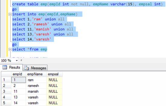 Add primary key in table in sql server 2012 for Table design sql