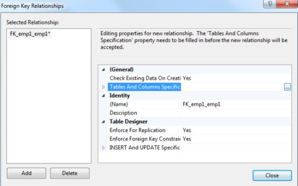 how to create foreign key relationship in sql server 2008