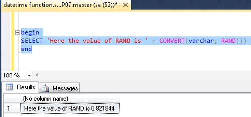 how to use rand function on classpad