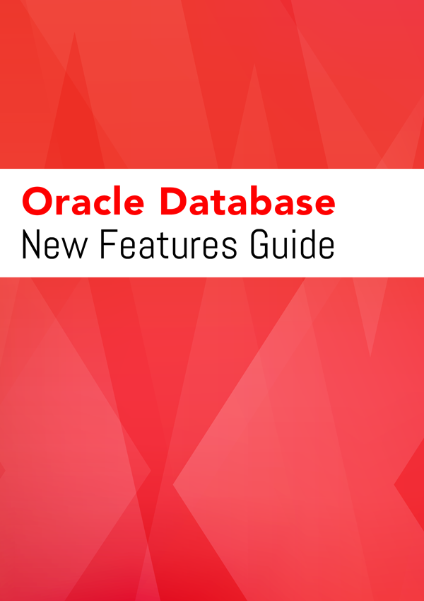 Oracle Database New Features Guide