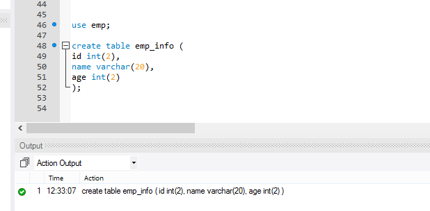 How to create a table in mysql - Mysql create table example ...