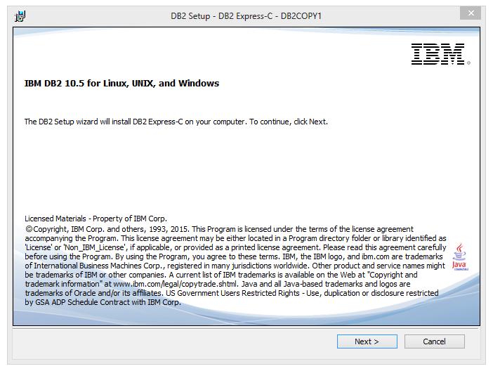 How To Install DB2 10 5 7